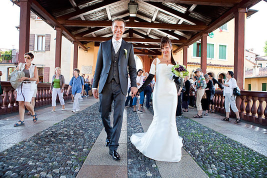 sposi sul ponte Bassano