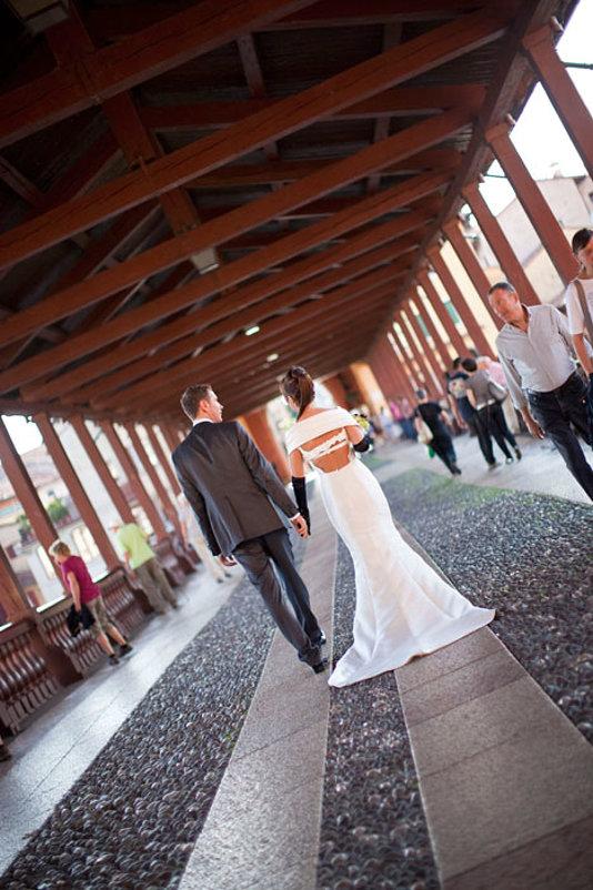 sposi sul ponte di bassano