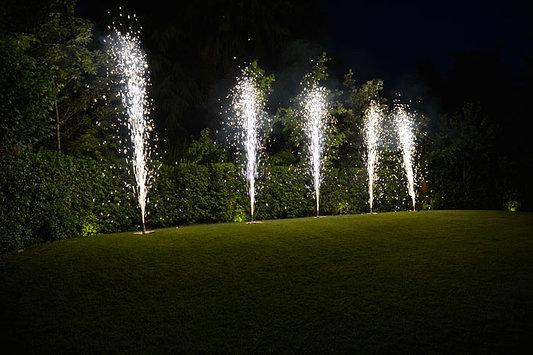 fontane fuoco giardino