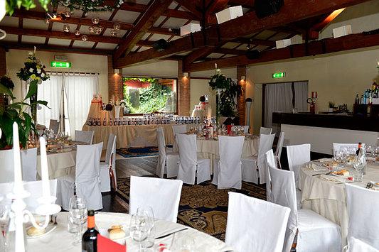 sala pranzo nozze